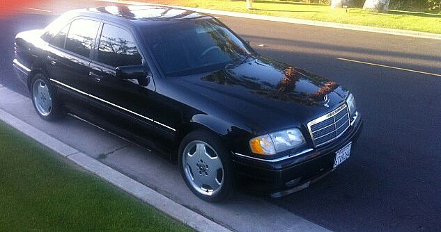 1997 mercedes c36 amg for sale palm springs california. Black Bedroom Furniture Sets. Home Design Ideas