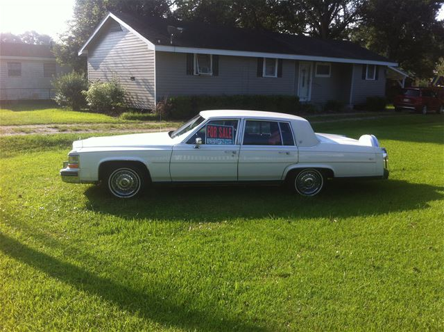 1987 Cadillac Brougham For Sale Thibodaux, Louisiana