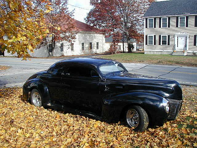 1940 Mercury Coupe For Sale manchester N.H., New Hampshire