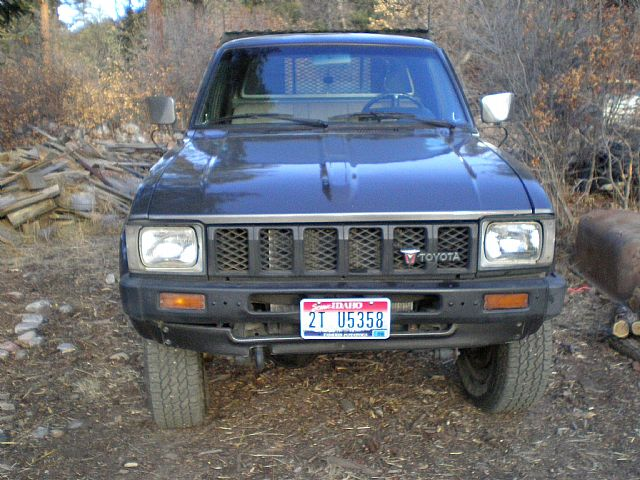 1983 Toyota 4x4 Custom Flatbed Truck For Sale Mora New Mexico