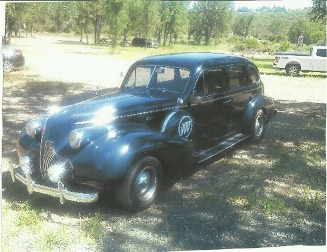 1939 Buick Roadmaster For Sale Lower Lake California