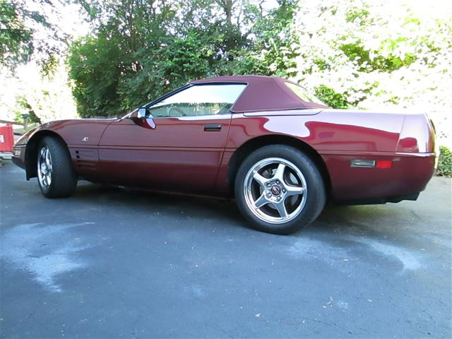 1993 chevrolet corvette for sale cincinnati ohio. Black Bedroom Furniture Sets. Home Design Ideas