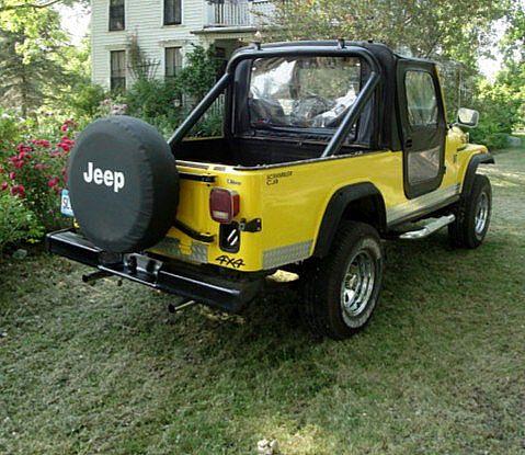 1982 jeep cj7 scrambler for sale browns valley minnesota. Black Bedroom Furniture Sets. Home Design Ideas
