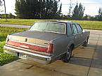 1986 Lincoln Town Car Picture 4