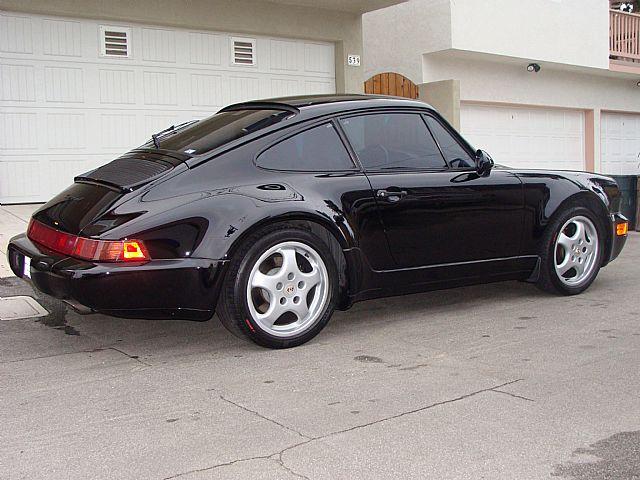 1994 porsche 911 carrera 4 wide body 964 for sale el segundo california. Black Bedroom Furniture Sets. Home Design Ideas