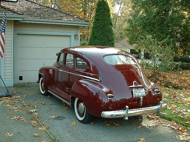 1948 Plymouth P15 Special Deluxe For Sale Renton Washington
