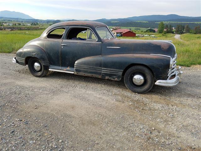 1947 Pontiac Torpedo Business Coupe For Sale Eureka Montana