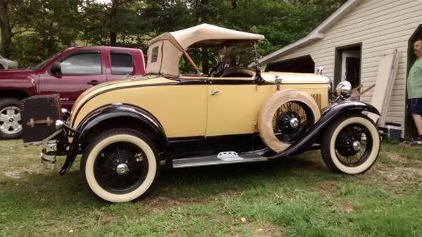 1931 ford model a for sale lancaster ohio. Black Bedroom Furniture Sets. Home Design Ideas