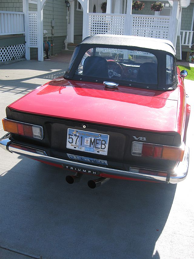 1975 Triumph TR6 V8 For Sale Kelowna, British Columbia