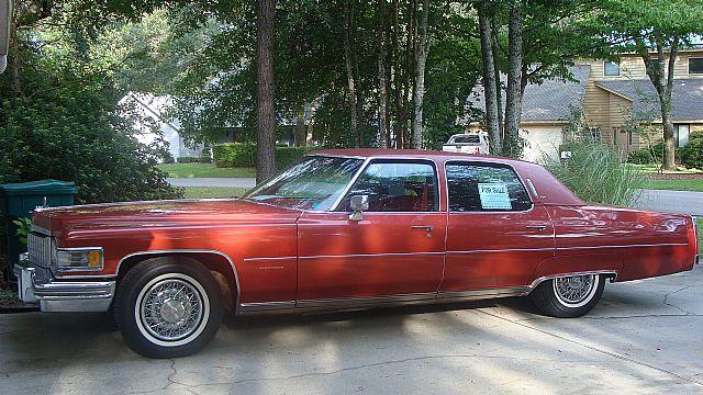 1976 Cadillac Fleetwood Brougham For Sale Okaloosa Co., Florida