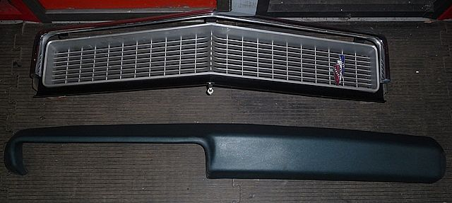 Grilldashpad on 1968 Buick Lesabre