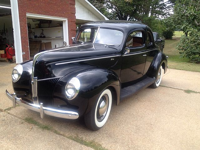 1940 ford standard coupe for sale fayette alabama. Black Bedroom Furniture Sets. Home Design Ideas