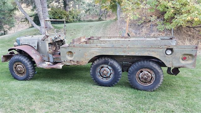 1944 Dodge WWII WC-62 Power Wagon For Sale Indio, California