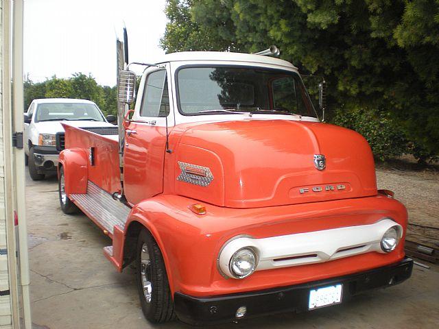 woody wagon 1 zipper 1 1954 ford coe truck