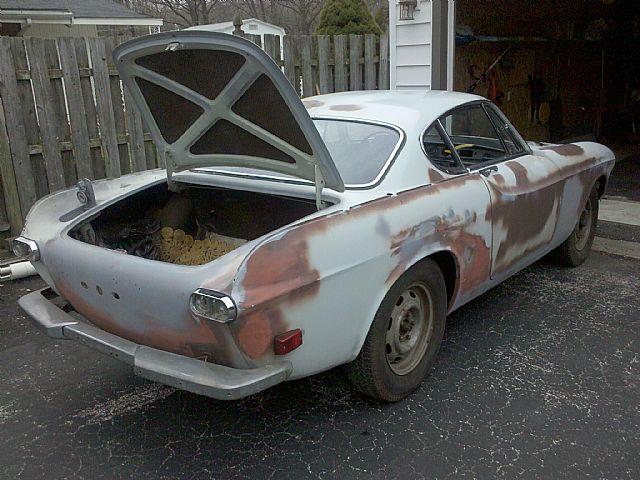 1968 Volvo P1800 For Sale Cherry Hill, New Jersey