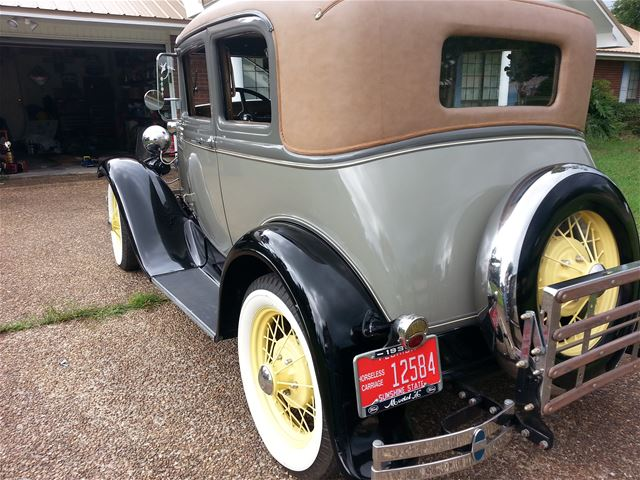 1931 Ford Model A Victoria For Sale Panama City Florida