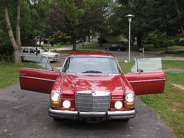 1973 Mercedes 280ce Coupe For Sale Gaithersburg Maryland