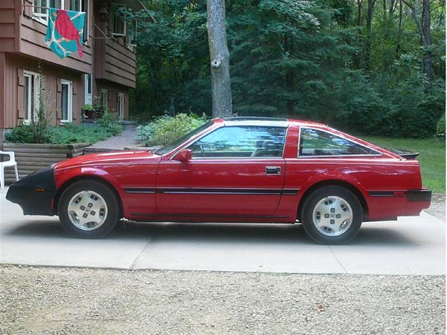 1984 nissan 300zx 2 2 coupe for sale cottage grove minnesota. Black Bedroom Furniture Sets. Home Design Ideas