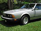 1984 BMW 633CSi Picture 6
