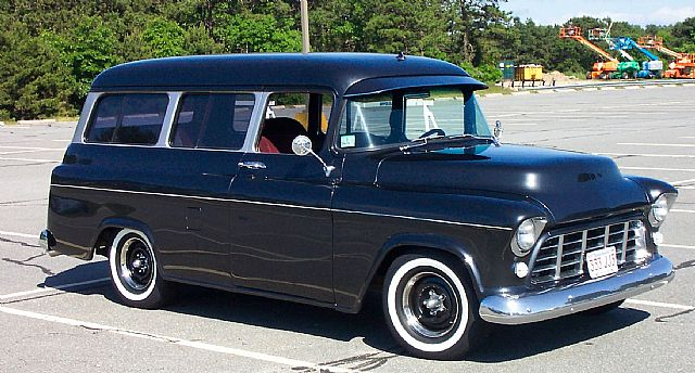 1956 Chevrolet Suburban For Sale Forestdale Massachusetts