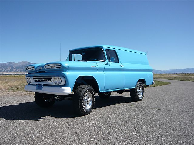 1961 chevrolet panel truck 4x4 for sale belgrade montana
