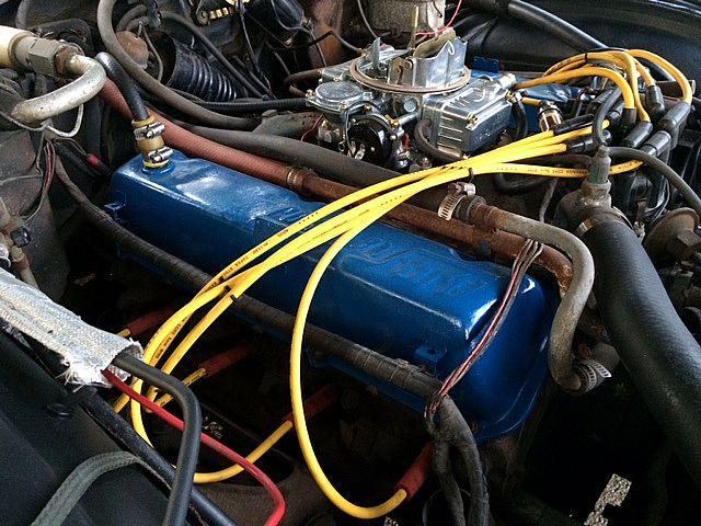 Image on Lincoln Mark Viii Engine