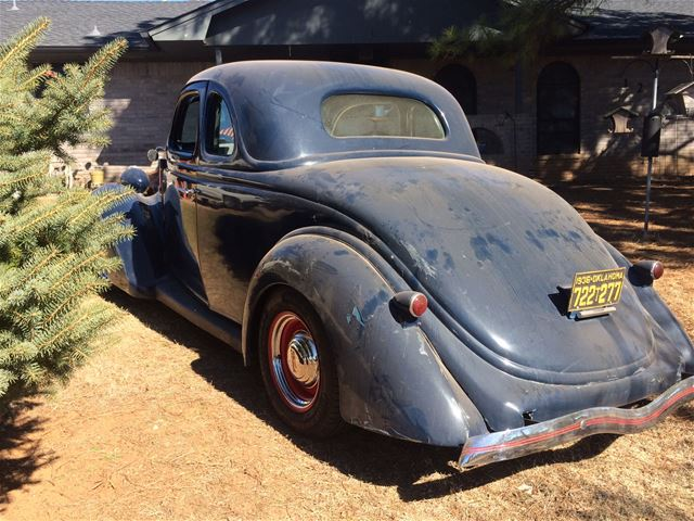1936 Ford 5 Window Coupe For Sale Oklahoma City Oklahoma
