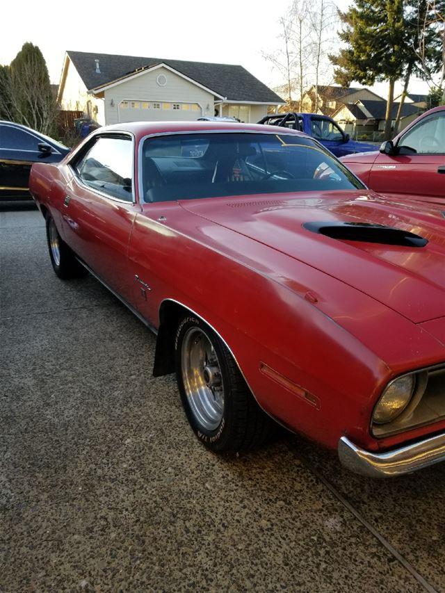 1970 Plymouth Barracuda For Sale Vancouver    Washington