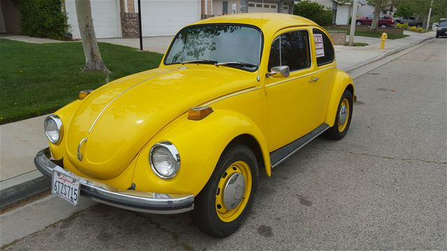1972 Volkswagen Super Beetle For Sale Palmdale, California