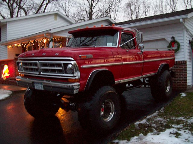 1972 Ford Highboy 4x4 For Sale ~ 1972 Ford F250 4x4