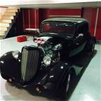 1934 Ford 3 Window Coupe Picture 8