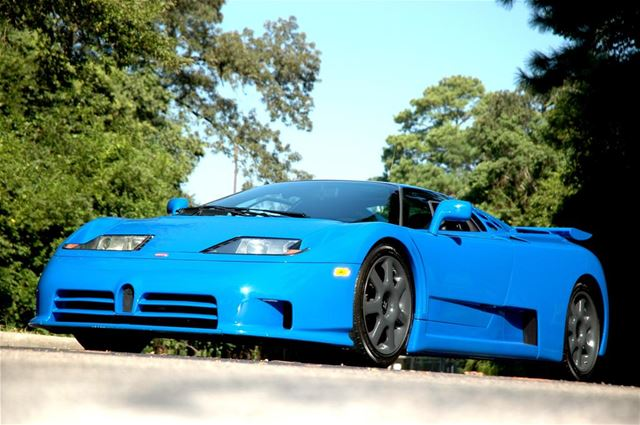 1995 bugatti eb 110 ss for sale los angeles california. Black Bedroom Furniture Sets. Home Design Ideas