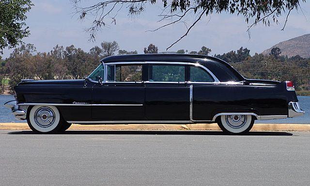 1955 Cadillac Fleetwood 75 Limo For Sale Iowa