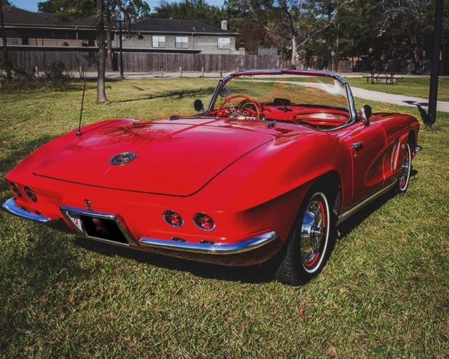 1962 Chevrolet Corvette For Sale Houston Texas