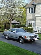 1985 Mercedes 380SL Picture 8