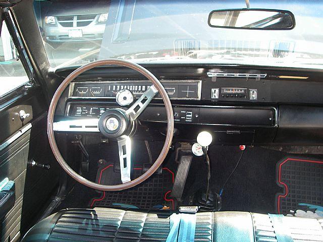 1968 PLYMOUTH ROAD RUNNER - 210179   1968 Plymouth Road Runner Interior
