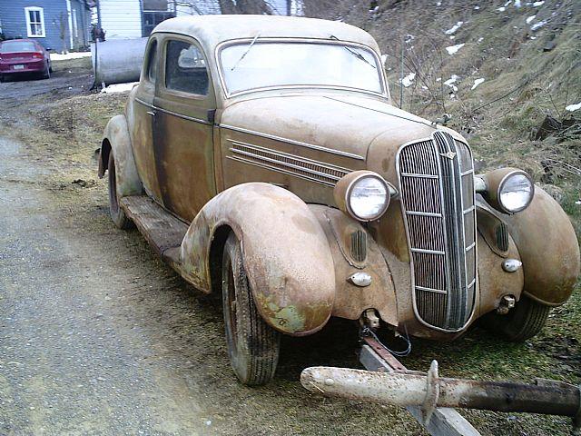 1936 Dodge Coupe For Sale Thompsontown Pennsylvania