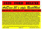 1939 Ford Deluxe Picture 8
