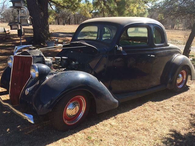 1936 Ford 5 Window Coupe For Sale Oklahoma City Oklahoma
