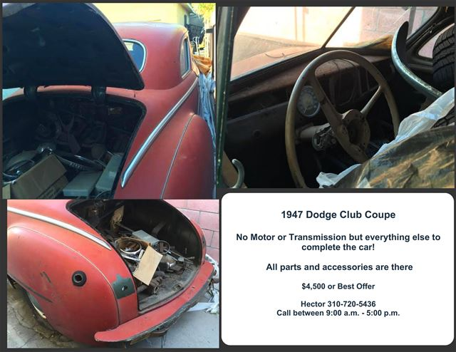 1947 Dodge Club Coupe